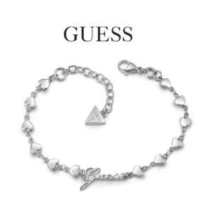 Guess® Pulseira UBB28006-L | 17-20 cm | Prateado