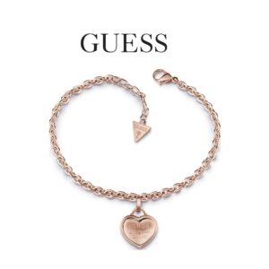 Guess® Pulseira Los Angeles UBB28026-L | Rosa Gold