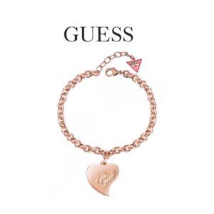 Guess® Pulseira UBB28096-S | Rosa Gold