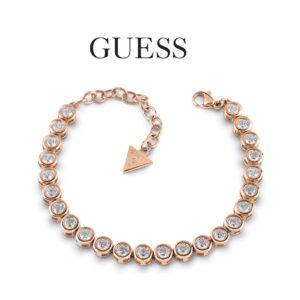 Pulsera Guess® UBB28128 | Con cristales de Swarovski | Oro rosa