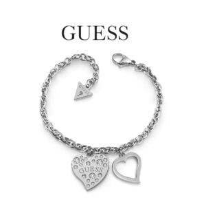 Guess® Bracelet UBB78094-L | With Swarovski Crystals | Silver