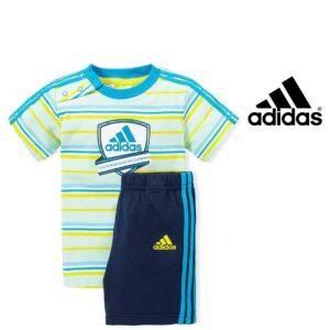 Adidas® Conjunto Infantil Multicolor With 3 Stripes
