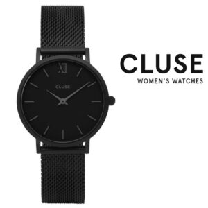 Relógio Cluse® Minuit Mesh Full Black | 33MM