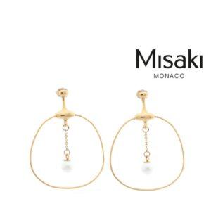 Brincos Misaki® QCRESARATOGACREOL | Gold