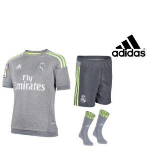 Adidas® Equipamento Oficial Real Madrid Junior | Tecnologia Climacool®