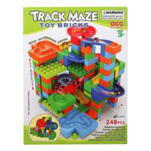 Jogo de Construção com Blocos Track Maze (248 pcs)