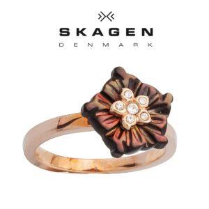 Anel  Skagen® JRSR023 | Tamanho 58
