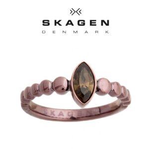 Anel  Skagen® JRSD005 Com Cristal Swarovski | Tamanho 57