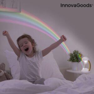 Projetor LED Nuvem Arco-íris