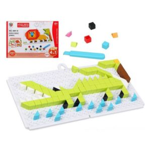 Puzzle Diy Animal 6 In 1 (248 pcs)