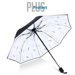 Guarda- Chuva Pequeno Plus Protect Penas Pavão