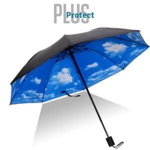 Guarda- Chuva Pequeno Plus Protect Céu Azul