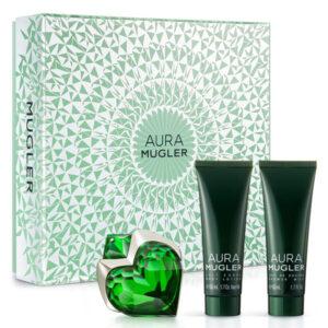 Conjunto de Perfume Mulher Aura Thierry Mugler EDP (3 pcs)