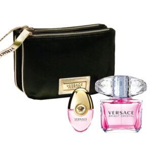 Conjunto de Perfume Mulher Bright Crystal Versace EDT (3 pcs)