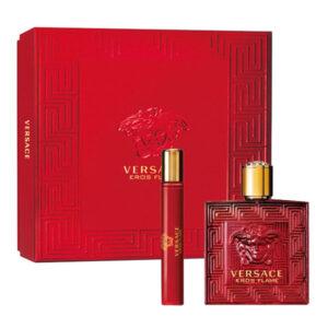 Conjunto de Perfume Homem Eros Flame Versace EDP (3 pcs)