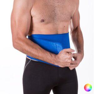 Cinto Elástico Lombar - Preto - Azul ou Vermelho