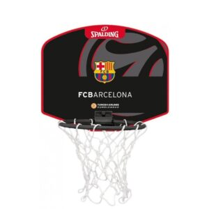 Spalding ® Mini Cesto de Basketball Barcelona C/Mini Bola