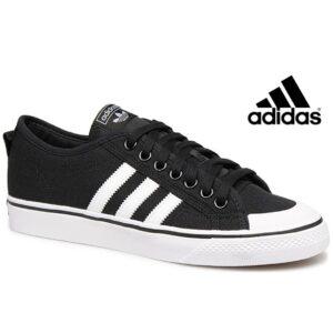 Adidas® Nizza J Core Black/Ftwr White | Tamanhos 36,5 - 37