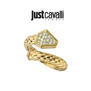 Anel Just Cavalli® | Gold  | Tamanho 18.5 mm | JCRG00010208