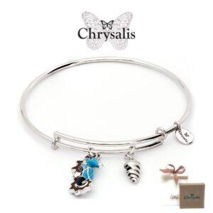 Pulseira Chrysalis®Seepferdchen | Silver | Tamanho Adaptável | Com Caixa ou Saco Oferta