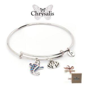 Pulseira Chrysalis®Koi | Silver | Tamanho Adaptável | Com Caixa ou Saco Oferta