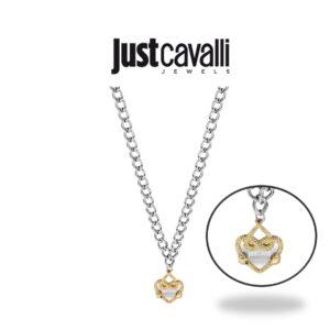 Colar Just Cavalli® | Prateado Dourado |  JCNL00090300
