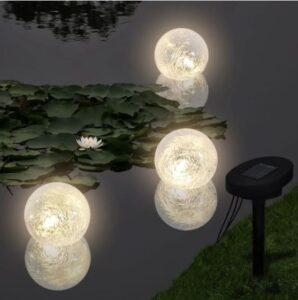 Candeeiros flutuantes 6 pcs LED para lagoa e piscina - PORTES GRÁTIS