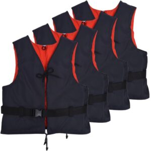 Auxiliares de flutuação 4 pcs 50 N 30-50 kg azul-marinho - PORTES GRÁTIS