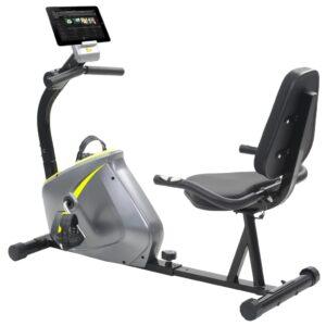 Bicicleta estática magnética reclinada com medição pulso - PORTES GRÁTIS