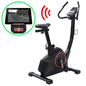 Bicicleta estática magnética com medição pulso programável - PORTES GRÁTIS