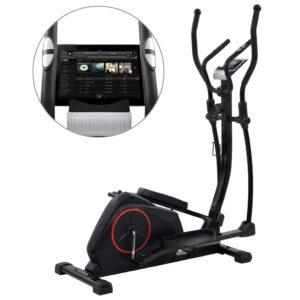 Bicicleta elíptica magnética com medição de pulso XL - PORTES GRÁTIS