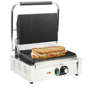 Grelhador sanduicheira Panini 2200 W 44x41x19 cm  - PORTES GRÁTIS