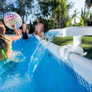 Intex Cascata LED para piscina multicor 28090 - PORTES GRÁTIS