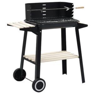 Suporte para churrasqueira a carvão com rodas - PORTES GRÁTIS