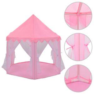 Tenda de brincar princesa rosa - PORTES GRÁTIS