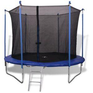 Conjunto de trampolim com 5 peças 3,05 m - PORTES GRÁTIS