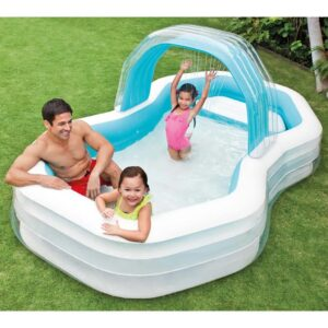 Intex Centro natação cabana insuflável 310x188x130 cm 57198NP - PORTES GRÁTIS