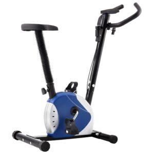 Bicicleta estática com resistência por cinta azul - PORTES GRÁTIS