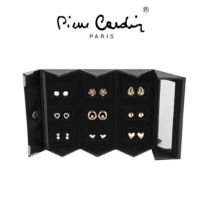 Conjunto Pierre Cardin®| 9 Pares de Brincos | PXE90083A
