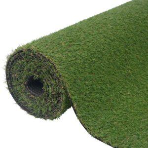 Relva artificial 1,5x5 m/20-25 mm verde - PORTES GRÁTIS