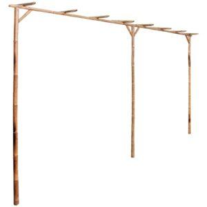 Pérgola de bambu 385x40x205 cm - PORTES GRÁTIS