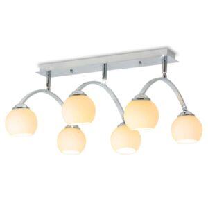 Candeeiro de teto com 6 lâmpadas LED G9 240 W - PORTES GRÁTIS