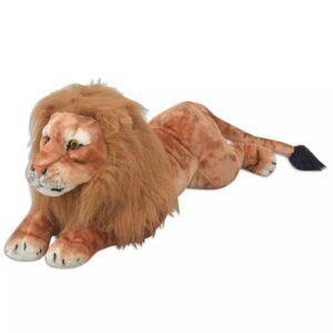 Leão de peluche, castanho, XXL - PORTES GRÁTIS