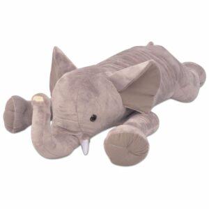 Elefante de brincar em pelúcia XXL 95 cm  - PORTES GRÁTIS