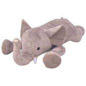 Elefante de brincar em pelúcia XXL 120 cm  - PORTES GRÁTIS