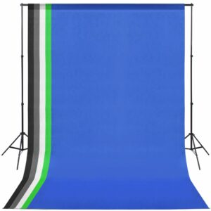 Kit estúdio fotográfico c/ 5 fundos coloridos e moldura ajustável - PORTES GRÁTIS