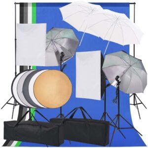 Kit de iluminação para estúdio fotográfico  - PORTES GRÁTIS