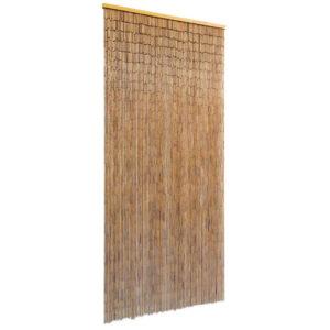 Cortina de porta em bambu 90x200 cm - PORTES GRÁTIS