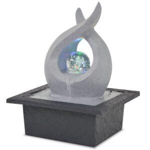 Fonte de interior com luz LED resina sintética - PORTES GRÁTIS