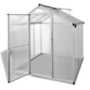 Estufa reforçada com alumínio 3,46 m² - PORTES GRÁTIS